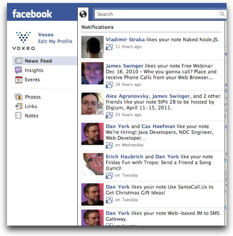 Are Facebook Pages About to Get Notifications? Screenshots