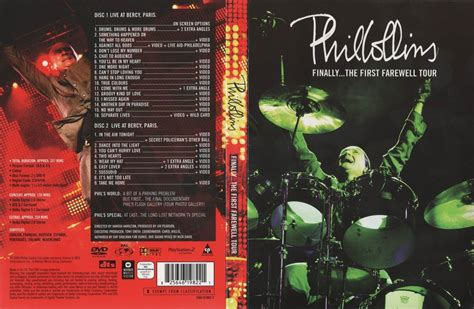 Phil Collins FINALLY THE FIRST FAREWELL TOUR MISC DVD