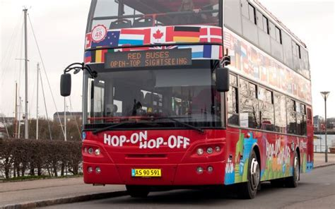 Red Sightseeing Copenhagen: Hop-On, Hop-Off Bus Tour with