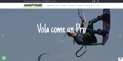 The new ACK site is live!   Cilento Coast Kiteboarding