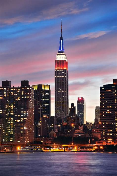 40 Most Adorable Empire State Building, Manhattan Night