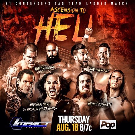 8/18 TNA Impact Wrestling Preview: Ascension to Hell