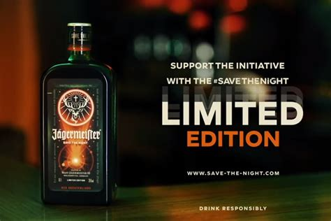 Jägermeister's limited edition bottle to help bars and