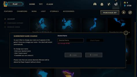 How to Change Your League of Legends Name
