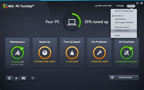 AVG PC TuneUp 2020 Crack With Activation Coad Free