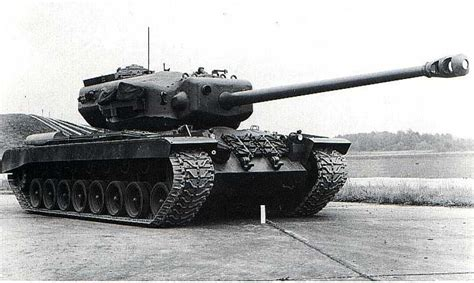 T29 - american heavy tank prototype, project was started