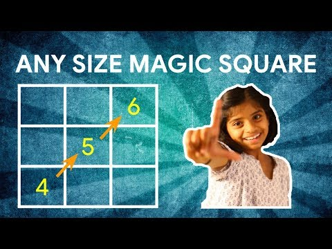 5x5 Magic Square - How To Solve a 5x5 Magic Square - How