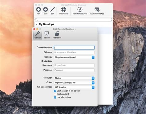 How to access Microsoft Remote Desktop on your Mac
