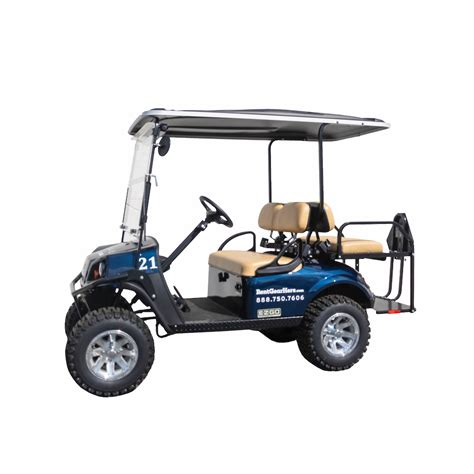FOUR SEATER GOLF CART RENTAL - 30A Equipment and Concierge