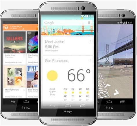 HTC One (M8): Quad-core, 1080p, KitKat, available today
