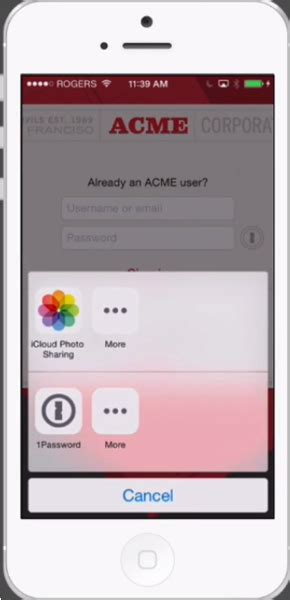 1Password Launches Extension for Third-Party iOS 8 Apps