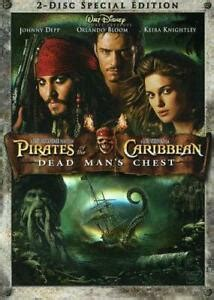 PIRATES OF THE CARIBBEAN DEAD MAN'S CHEST 2 DISC SPECIAL