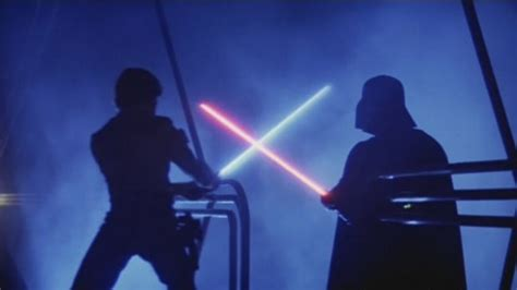 Star Wars-inspired lightsaber duelling club looks for