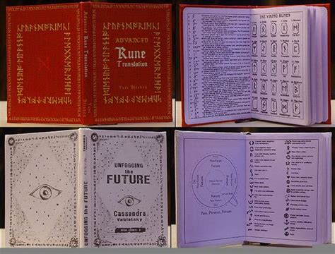 Choice of School Books Harry Potter Fanmade [A6 Dimension