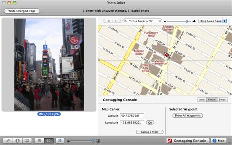 Early Innovations | Geotagging: Manual Mode