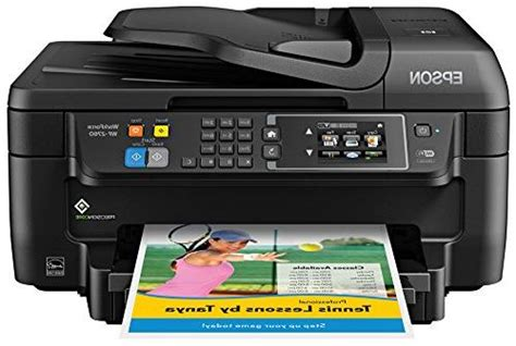 Epson WF-2760 All-in-One Wireless Color Printer with Scanner,