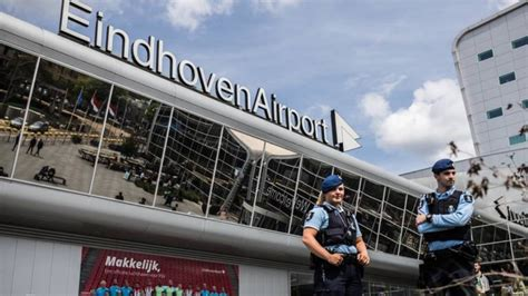 29 Eindhoven Airport military police corona infected