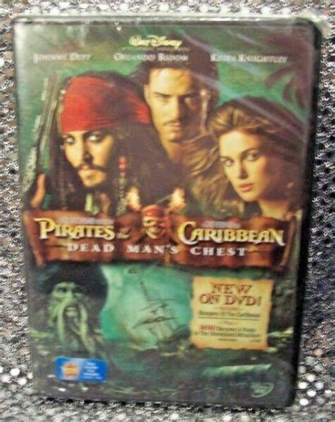 Pirates of The Caribbean Dead Mans Chest Disney DVD Johnny