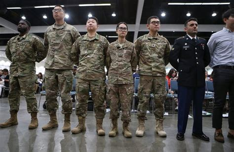 Don't discharge immigrants in the military, make more of