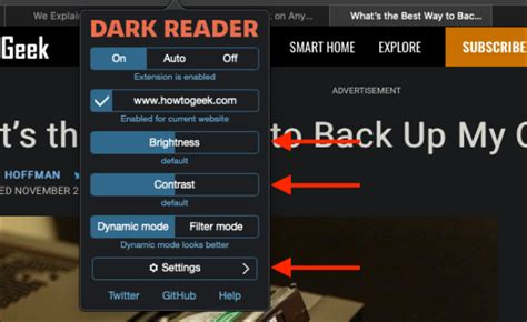 How to Get Dark Mode for All Websites on Mac