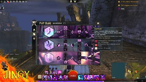 Guild Wars 2 With Jingy! Condition Mesmer PvP Build - YouTube