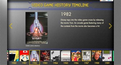 New Video Game History Timeline: Do You Agree? | WIRED