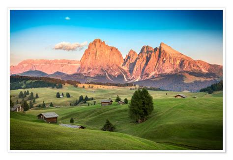 Seiser Alm, South Tyrol Posters and Prints   Posterlounge