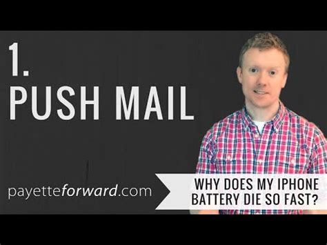 Push mail iphone — looking for email crm knowhow and