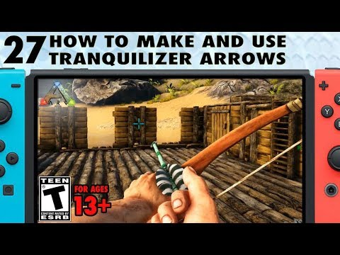 Toxic Tranq Arrow - Official ARK: Survival Evolved Wiki