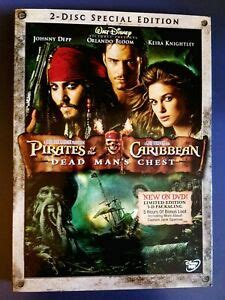 Pirates of the Caribbean: Dead Man's Chest (DVD, 2-disc