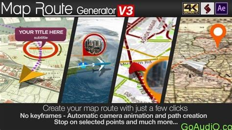 Videohive Map Route Generator V3 21686169 Free Download