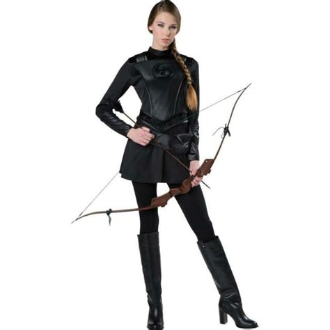 NEW WOMENS TOTALLY GHOUL WARRIOR HUNTRESS COSTUME