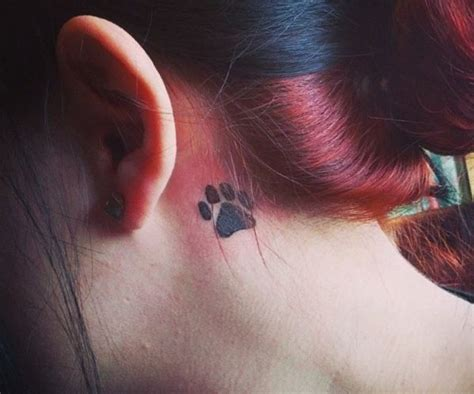 33 paws tattoo concepts – photos and that means   Pfoten