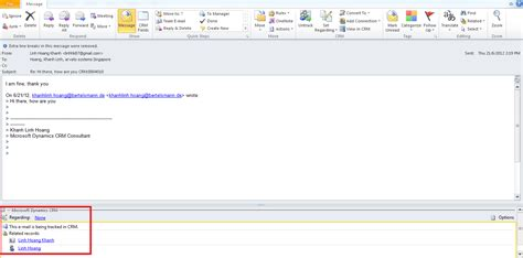 'Regarding' doesn't show in e-mail generated by workflow