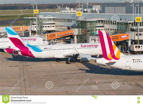 Eurowings Airbus A320 editorial stock image