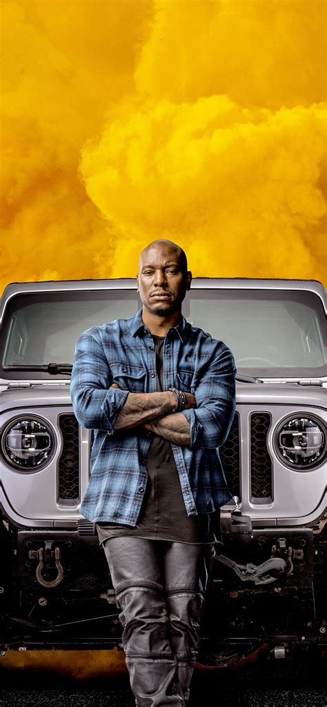 roman pearce in fast and furious 9 2020 movie iPhone 11