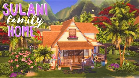 Sulani Family Home 🌺 // Sims 4 Island Living Speed Build