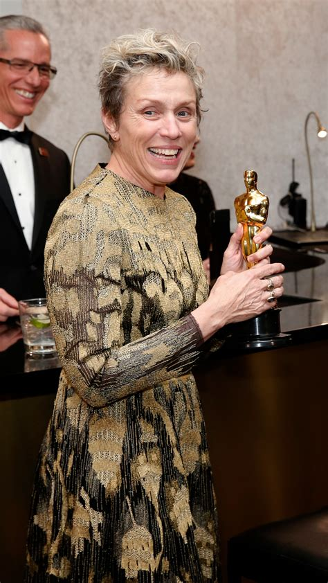Man arrested, accused of stealing Frances McDormand's
