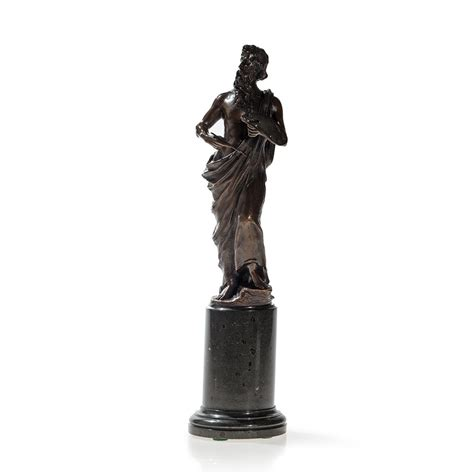 Franz Iffland, Bronze Sculpture 'Allegory of Painting', c