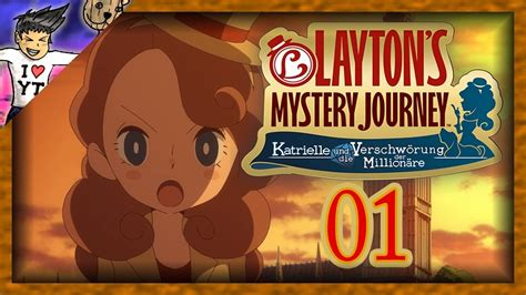Let's Play Laytons Mystery Journey #01 - Verzweiflung am 1