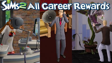 The Sims 2 All Career Rewards - YouTube