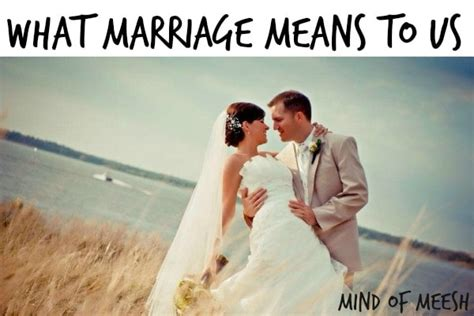 What Marriage Means to Us - Modern Mom Life