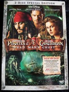 Video DVD - PIRATES OF THE CARIBBEAN - Dead Mans Chest (2