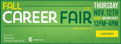 The largest UO Career Fair ever will be this November 12th
