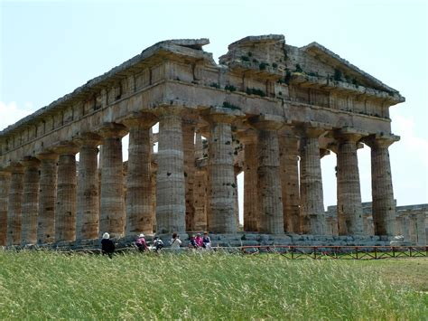 Paestum ruins | Temple of Neptune, also known as the