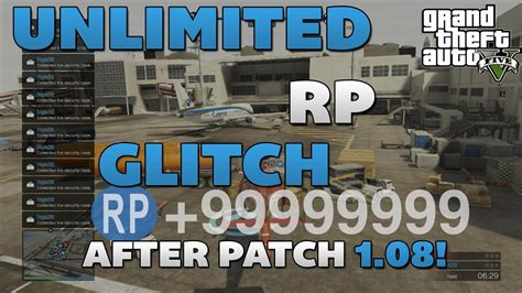 GTA 5 - Unlimited RP Glitch (AFTER PATCH 1