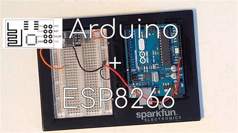 How to setup & test ESP8266 with an Arduino UNO - YouTube
