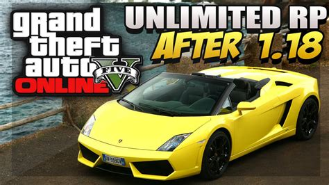 """GTA 5 Online - """"Unlimited RP Glitch"""" After Patch 1"""
