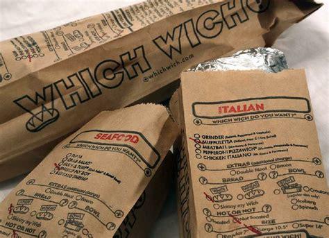 Which Wich? It'll be tasty