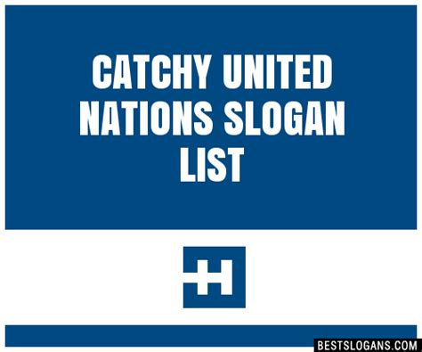 30+ Catchy United Nations Slogans List, Taglines, Phrases